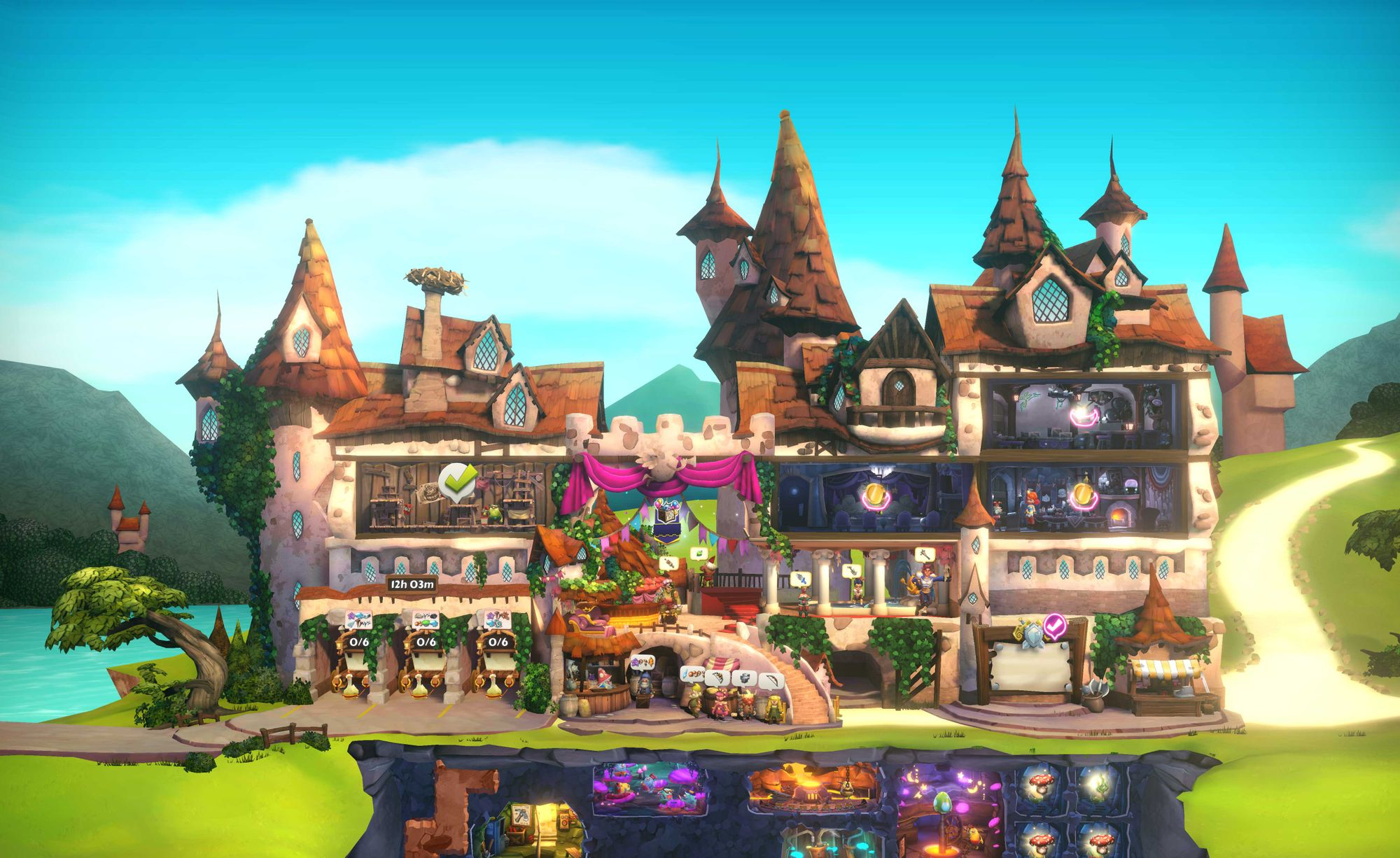 Construa o castelo de fantasia supremo